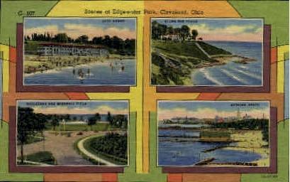 Edgewater Park - Cleveland, Ohio OH Postcard