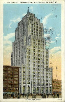 The Ohio Bell Telephone Co. - Cleveland Postcard
