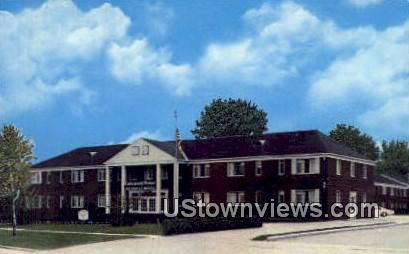 Lakewood Manor Motel - Cleveland, Ohio OH Postcard