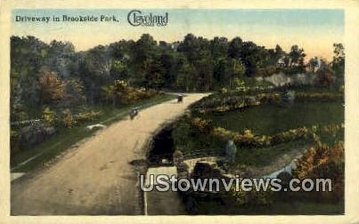 Brookside Park - Cleveland, Ohio OH Postcard