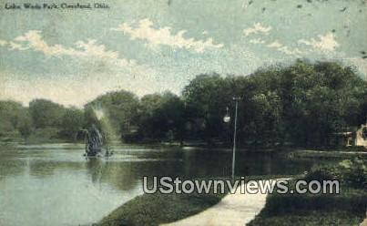 Lake, Wade Park - Cleveland, Ohio OH Postcard