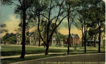 Officers Quarters - Columbus Barracks, Ohio OH Postcard