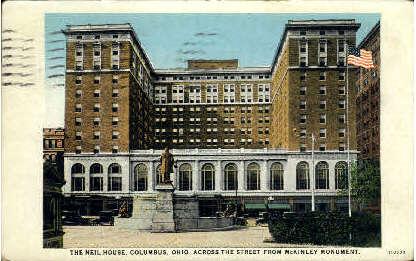 The Neil House - Columbus, Ohio OH Postcard