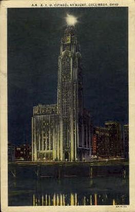 A. I. U. Citadel - Columbus, Ohio OH Postcard