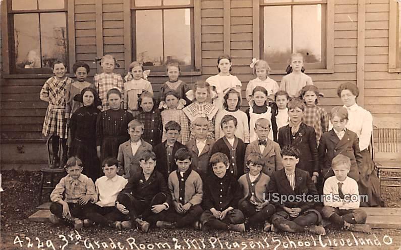 3rd Grade - Cleveland, Ohio OH Postcard