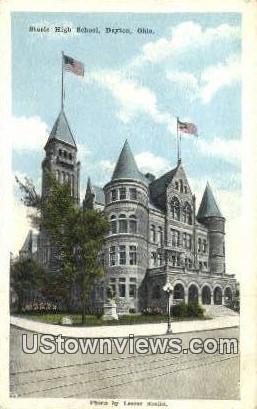 Steele High School - Dayton, Ohio OH Postcard