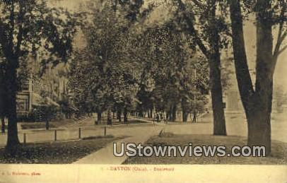 Boulevard - Dayton, Ohio OH Postcard