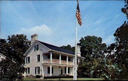 The Rubicon Homestead - Dayton, Ohio OH Postcard