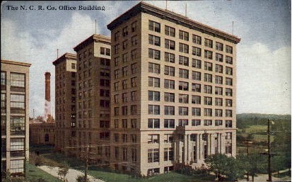The N. C. R. Co. Office Building - Dayton, Ohio OH Postcard