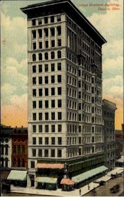 United Brethern Building - Dayton, Ohio OH Postcard