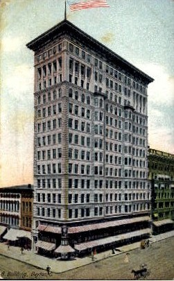 B. Building - Dayton, Ohio OH Postcard