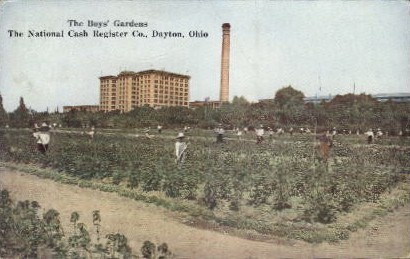 The Boys' Gardens - Dayton, Ohio OH Postcard