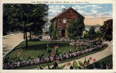 Van Cleve Park  - Dayton, Ohio OH Postcard