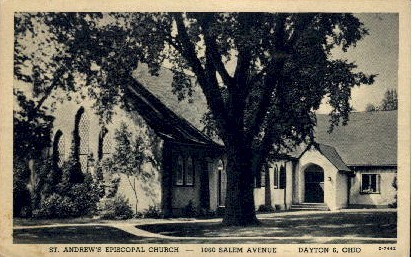 St. Andrew's Episcopal Church - Dayton, Ohio OH Postcard