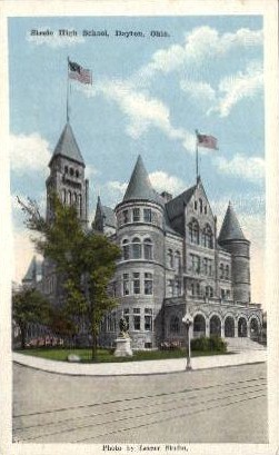 Steele High School - Dayton, Ohio OH Postcard