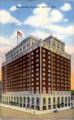 The Dayton Biltmore - Ohio OH Postcard