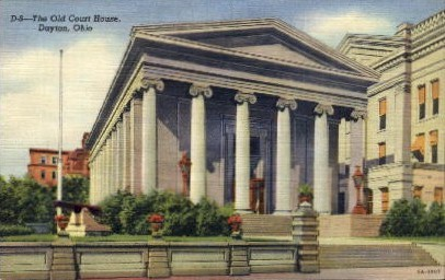 The Old Court House - Dayton, Ohio OH Postcard