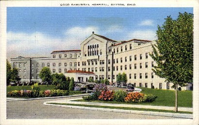 Good Samaritan Hospital - Dayton, Ohio OH Postcard