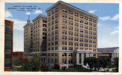 Office Building of National Cash Register - Dayton, Ohio OH Postcard
