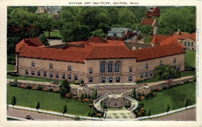 Dayton Art Institute - Ohio OH Postcard