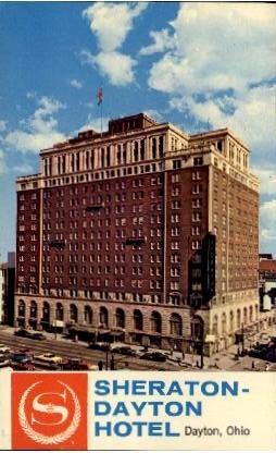Sheraton-Dayton Hotel - Ohio OH Postcard