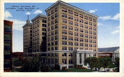 Office Building of National Cash Register Co. - Dayton, Ohio OH Postcard