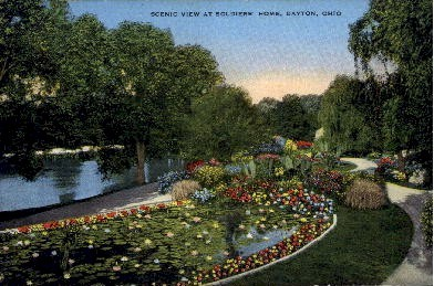 Soldiers' Home - Dayton, Ohio OH Postcard