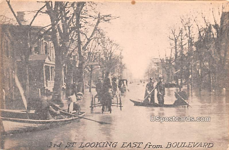 3rd Street East - Dayton, Ohio OH Postcard