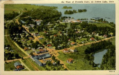 Russells Point - Indian Lake, Ohio OH Postcard