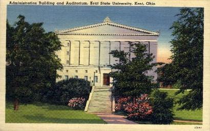 Kent State University - Ohio OH Postcard