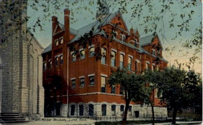 St. Rose School - Lima, Ohio OH Postcard
