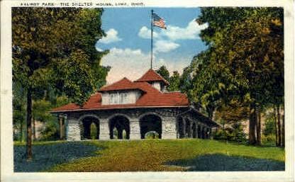 Faurot Park - Lima, Ohio OH Postcard