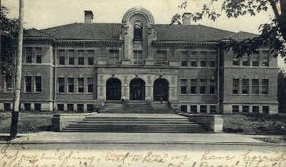 High School - Lima, Ohio OH Postcard