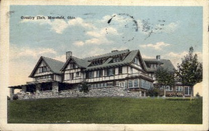 Country Club - Mansfield, Ohio OH Postcard