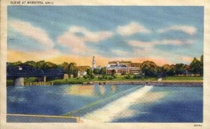 Marietta, Ohio Postcard