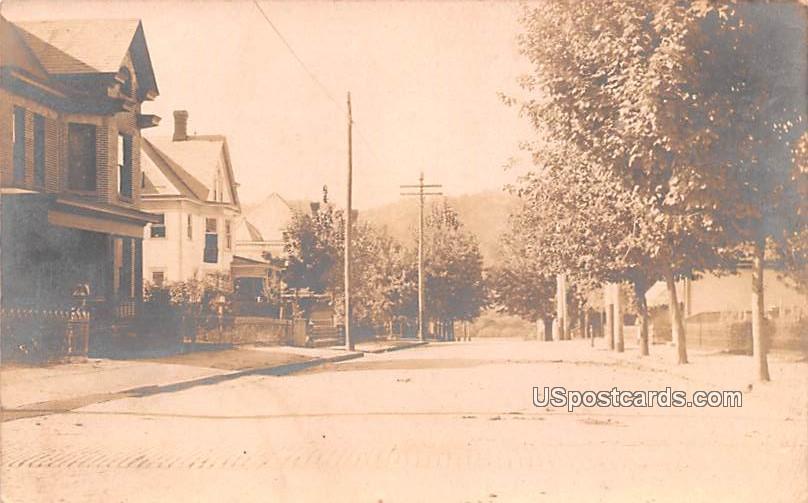 Franklin street - Marietta, Ohio OH Postcard