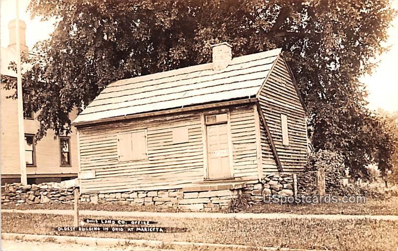 Ohio Land County Office - Marietta Postcard