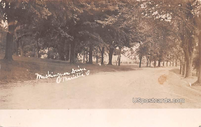 Muckingum Drive - Marietta, Ohio OH Postcard