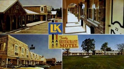L-K Restaurant & Motel - Misc, Ohio OH Postcard