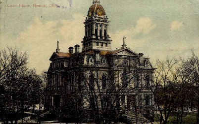 Court House   - Newark, Ohio OH Postcard