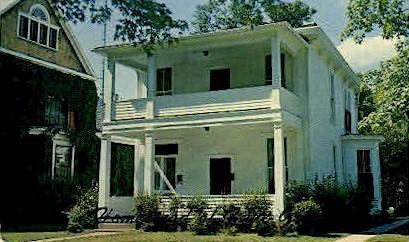 Zane Grey House - Zanesville, Ohio OH Postcard