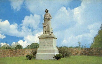 Madonna of the Trails - Springfield, Ohio OH Postcard