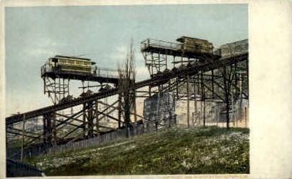 Inclined Plane - Cincinnati, Ohio OH Postcard