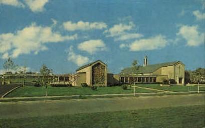 First Presbyterian Church - Bryan, Ohio OH Postcard