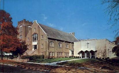 First Lutheran Church - Bryan, Ohio OH Postcard