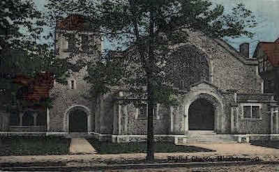 Baptist Church - Middletown, Ohio OH Postcard