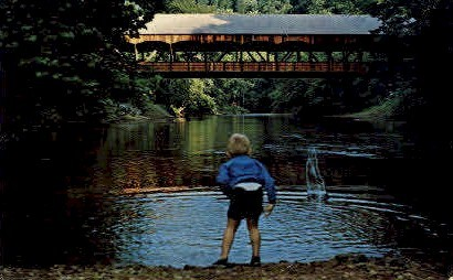 Mohican State Park - Mansfield, Ohio OH Postcard
