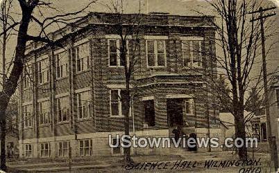 Science Hall - Wilmington, Ohio OH Postcard