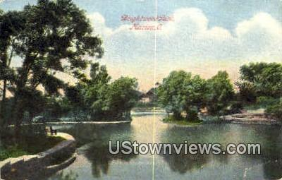 Brightwood Park - Marion, Ohio OH Postcard