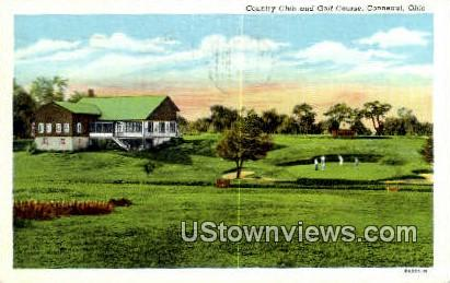 Country Club & Golf Course - Conneaut, Ohio OH Postcard